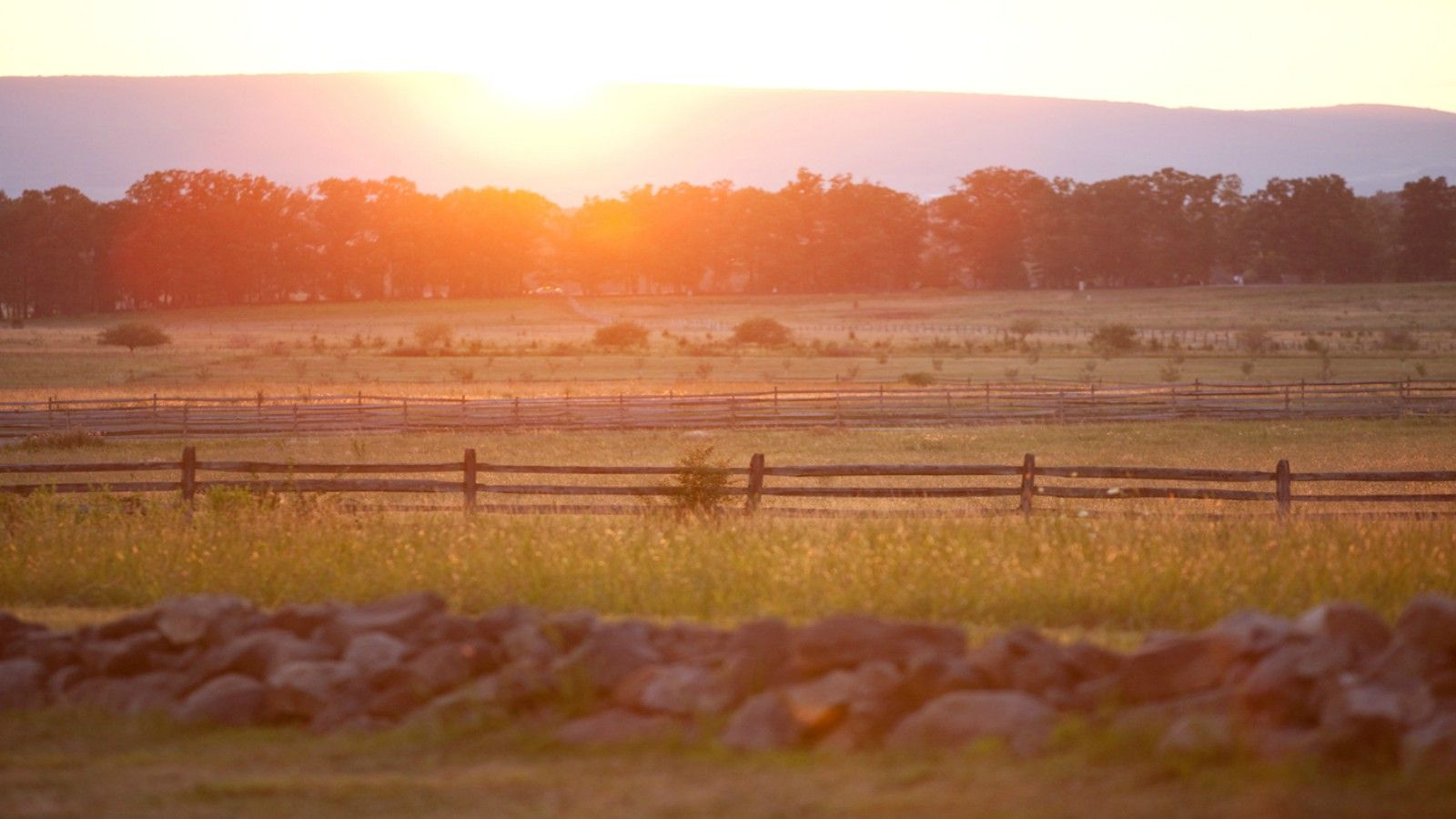 Things to do in Gettysburg, PA - Sunset